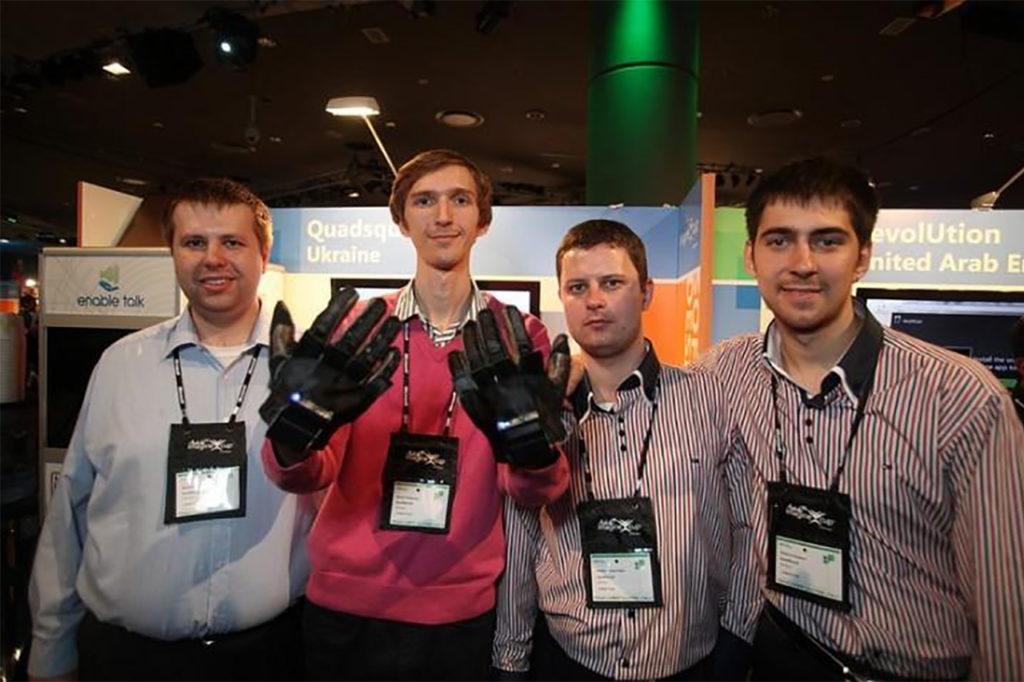 enable virtual talking gloves