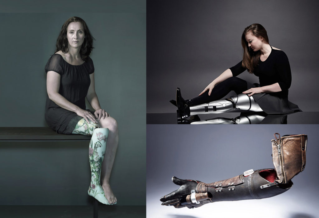 Artful body parts for the disabled