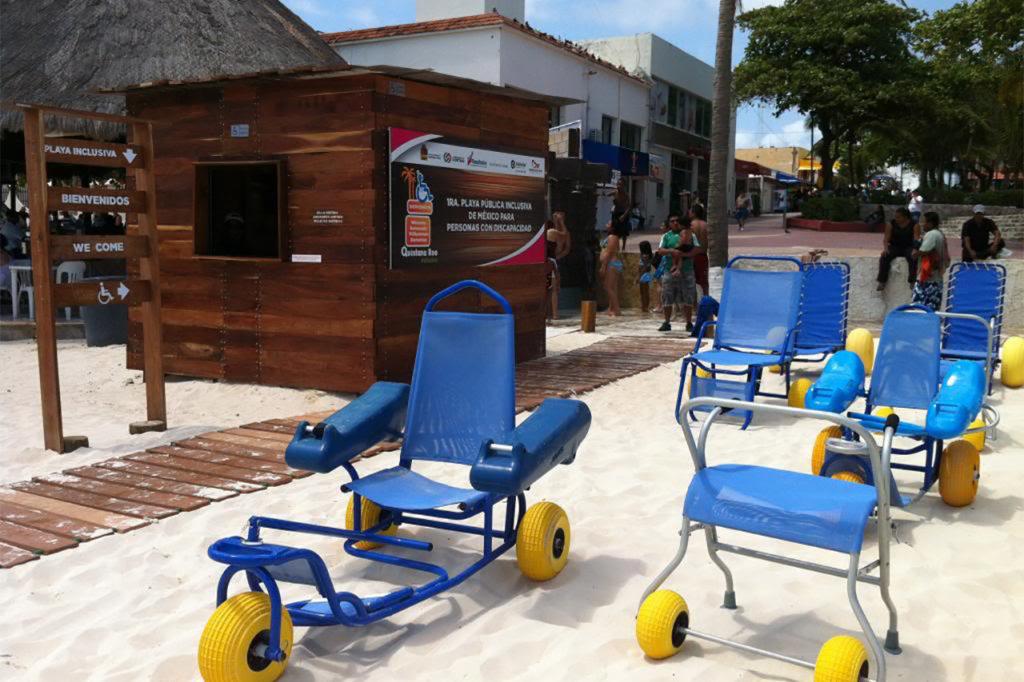 Mexico Accessible Beach