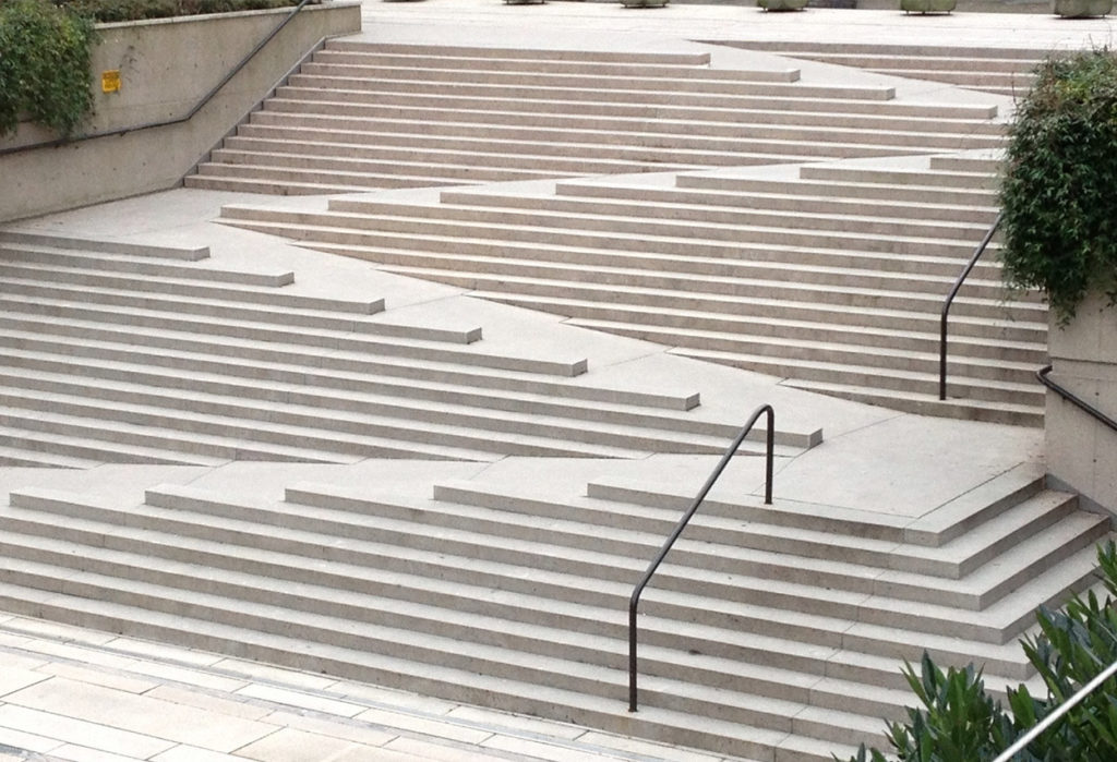 Accessibility and stairs do not mix well