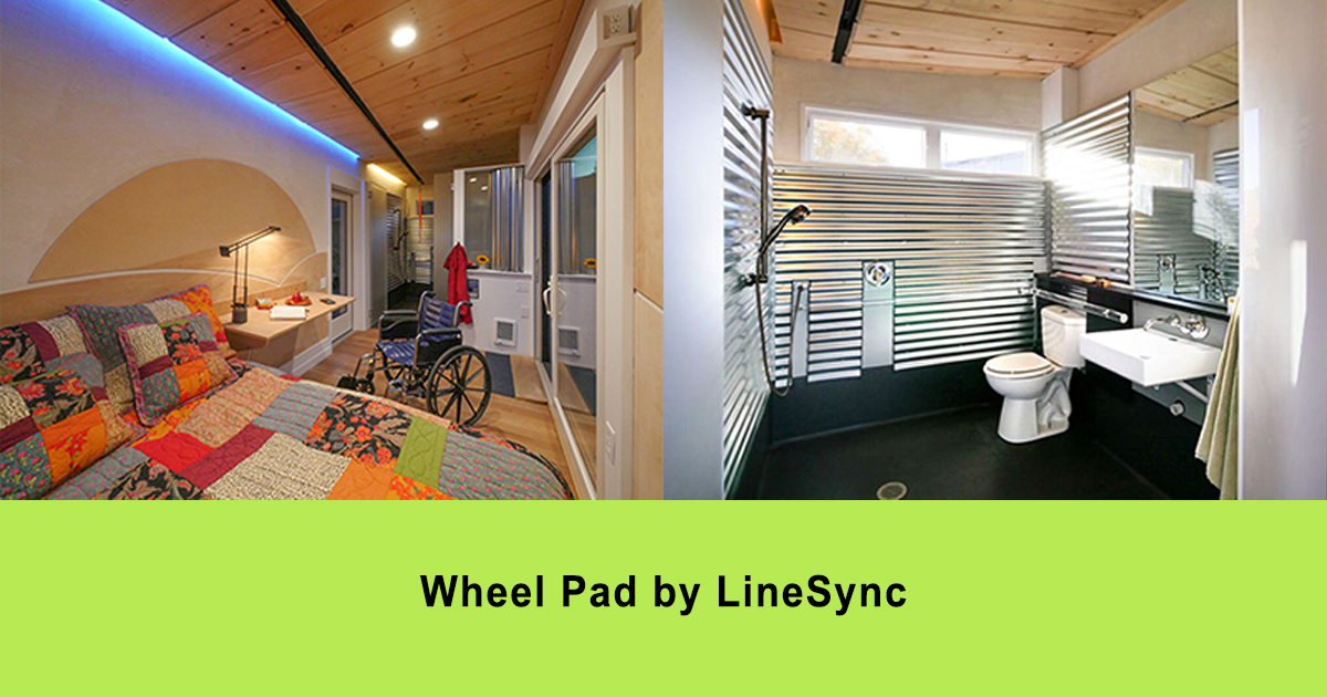 Wheelchair accessible tiny homes