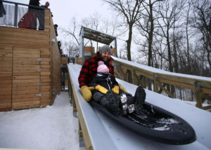 Winter Fun Accessible Toboggan Run